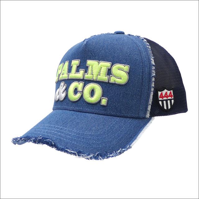 YOSHINORI KOTAKE(ヨシノリコタケ) x Palms&co.(パームスアンドコー) TWILL MESH CAP (キャップ) DENIM 251-001218-017x【新品】