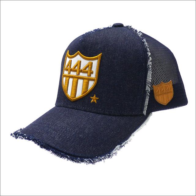 YOSHINORI KOTAKE(ヨシノリコタケ) DENIM 444 LOGO MESH CAP (キャップ) INDIGO 251-001243-017x【新品】