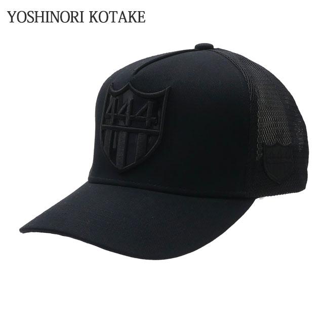 YOSHINORI KOTAKE(ヨシノリコタケ) x BARNEYS NEWYORK(バーニーズ ニューヨーク) 444 LOGO MESH CAP (キャップ) BLACKxBLACK 251-001255-011+【新品】