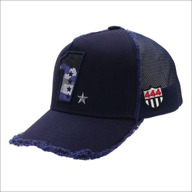 YOSHINORI KOTAKE(ヨシノリコタケ) CAMO 1 LOGO MESH CAP (キャップ) NAVY 251-001258-017x【新品】