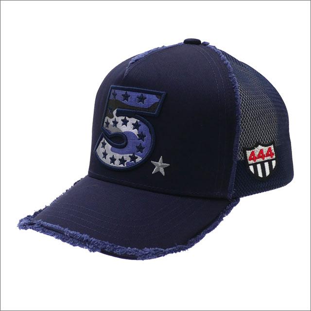 YOSHINORI KOTAKE(ヨシノリコタケ) CAMO 5 LOGO MESH CAP (キャップ) NAVY 251-001259-017x【新品】