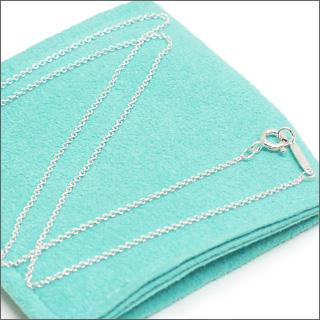 Tiffany&Co.( Tiffany ) Sterling Silver Pendant chain 41 cmSILVER 267 - 000063 - 162