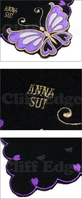 ANNASUI(아나스이) 하트 버터플라이 파일 손수건 290-001715-010 x
