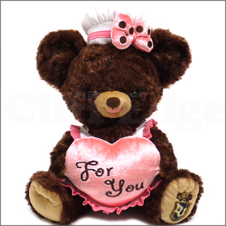 DISNEY STORE (디즈니 스토어) UniBEARsity 봉 제 Lots of Sweets 푸딩 BROWN 283-000312-026x