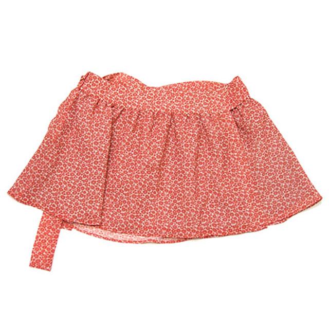 Cher(シェル)小花柄ラップ スカート【新品】RED