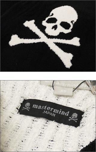 Mastermind JAPAN (마스터 마인드 재팬) x BAREFOOT DREAMS (ベアフットドリームス) 백 해골 더미 파커 BLACK 212-000454-021 +