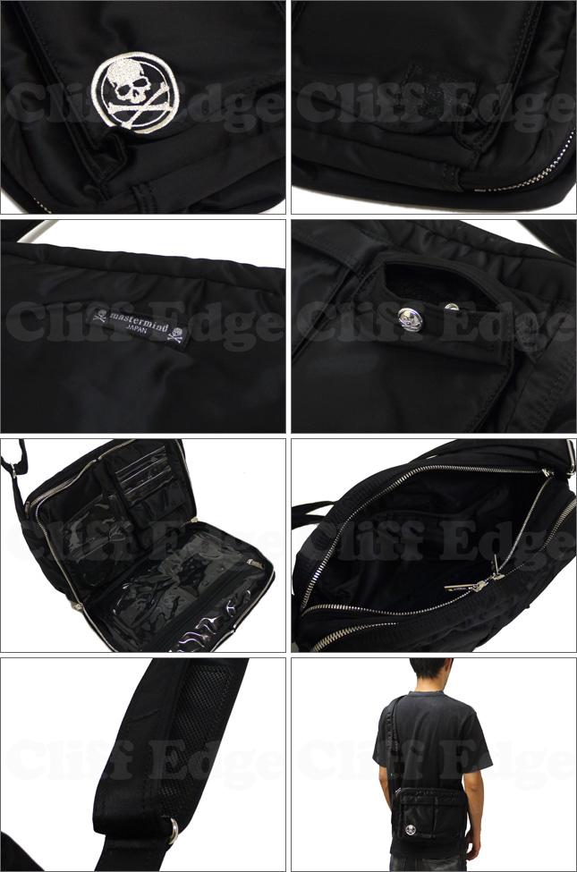 mastermind JAPAN(마스터 마인드 재팬) x PORTER(포터) 숄더백 S [BAG] BLACK 275-000081-031+