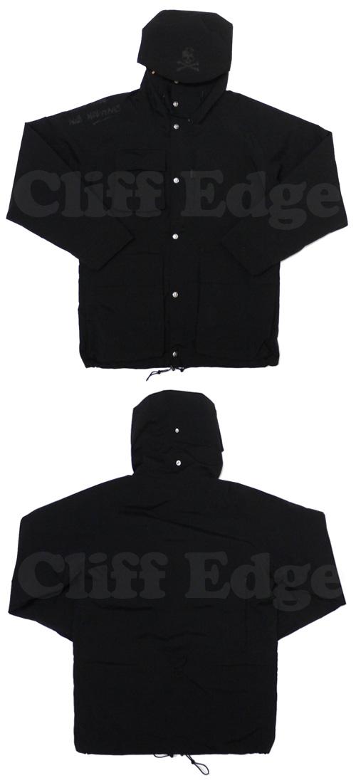 mastermind JAPAN(마스터 마인드 재팬) x MOUNTAIN RESEARCH(마운틴 리서치) A.M. 재킷 BLACK 130-001274-051+