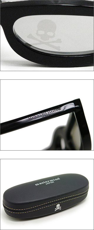mastermind JAPAN (master India) black frame sunglasses BLACK
