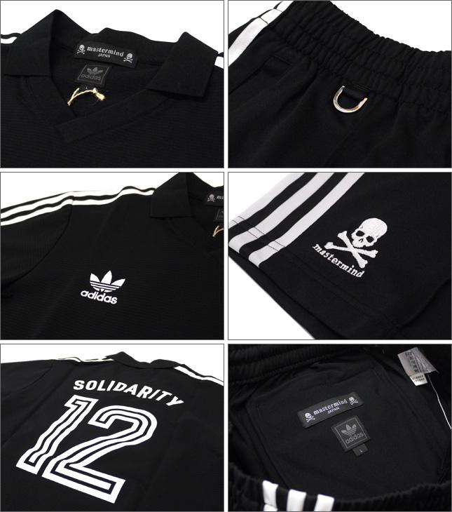 Mastermind JAPAN (마스터 마인드 재팬) 트랙 정장 유니폼 세트 Type3 BLACK 299-000346-051-