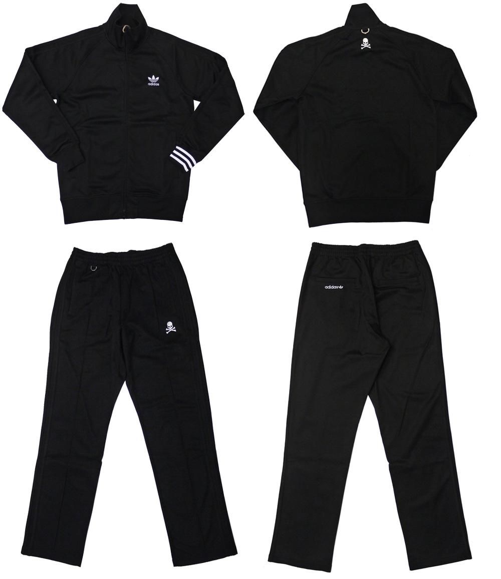 Mastermind JAPAN (마스터 마인드 재팬) 트랙 정장 유니폼 세트 Type1 BLACK 299-000347-041-