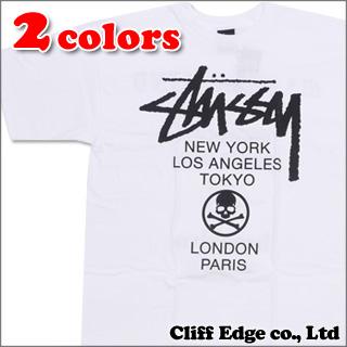 mastermind JAPAN x STUSSY mmJ World Tour T shirt 200-005242-041 +