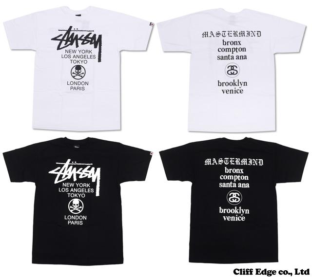 mastermind JAPAN x STUSSY mmJ World Tour T셔츠200-005242-041+