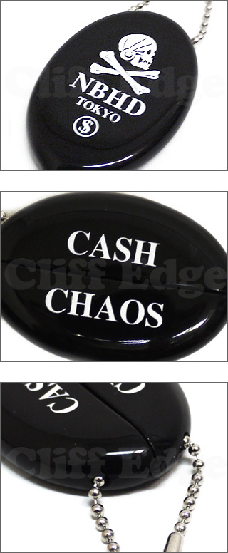 NEIGHBORHOOD纪念物系列硬币情况[CASH CHAOS]BLACK/YELLOW 278-000317-018-
