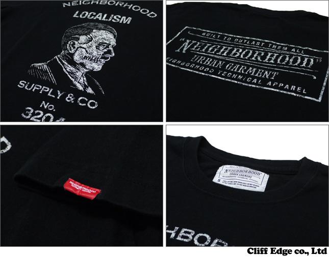 NEIGHBORHOOD LOCALISM T셔츠 BLACK CHARCOAL 200-004464-031-
