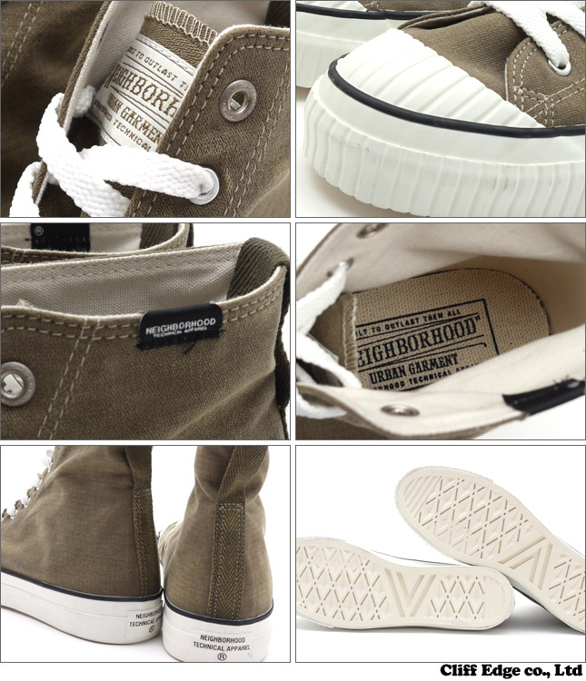 NEIGHBORHOOD GOODRICH-HI/C-SNEAKER (운동 화) OD 291-001368-305-