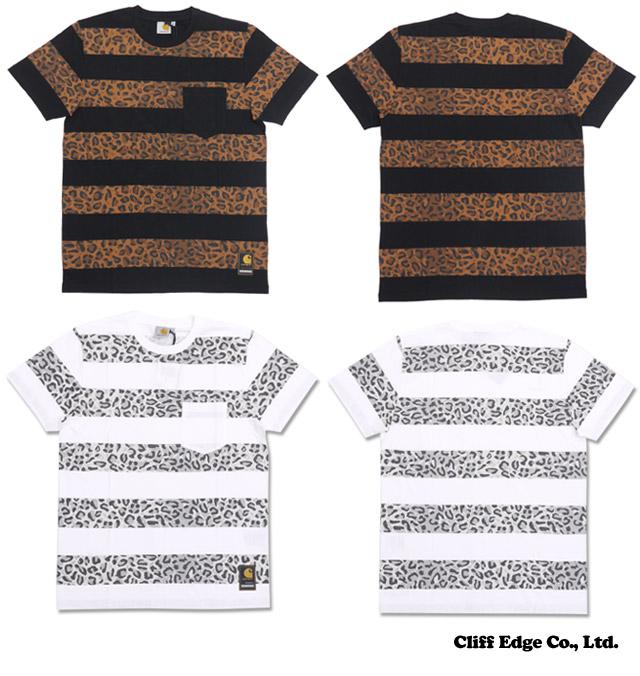 邻域 x 哈特 WIP 春夏豹纹 t 恤 (t 恤) 200-006235-000-▼
