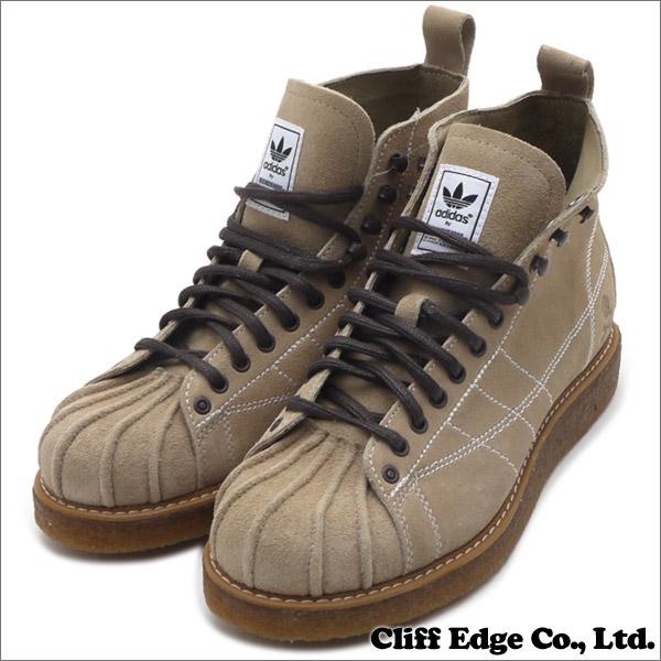 reputable site de3ac 0a56c NEIGHBORHOOD x adidas Originals NH SHELLTOE BOOTS (boots) (shoes) HEMP  (BEIGE
