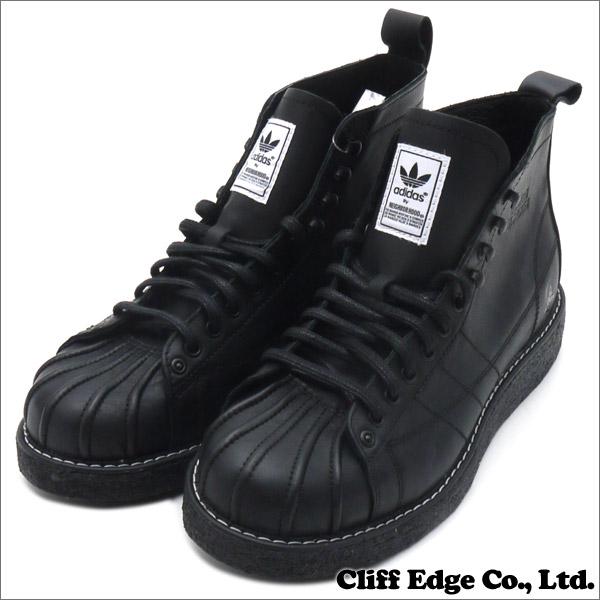 NEIGHBORHOOD x adidas Originals NH SHELLTOE BOOTS (boots) (shoe)-BLACK-  293-000169-261 58300d7f12
