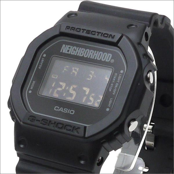 NEIGHBORHOOD (네이버 후드) x CASIO (카시오) G-SHOCK (지 쇼크) (시계) DW-5600 BLACK 287-000190-011 +