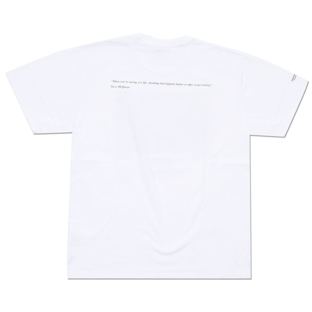 NEIGHBORHOOD (네이버 후드) MCQUEEN-2/C-TEE. SS (T 셔츠) WHITE 200-007002-050-