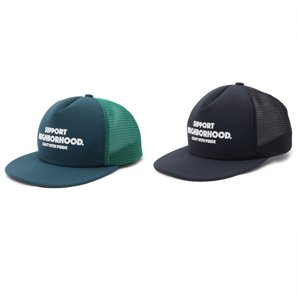 NEIGHBORHOOD(neibafuddo)BAR&SHIELD/ER-CAP(网丝盖子)251-001037-011-