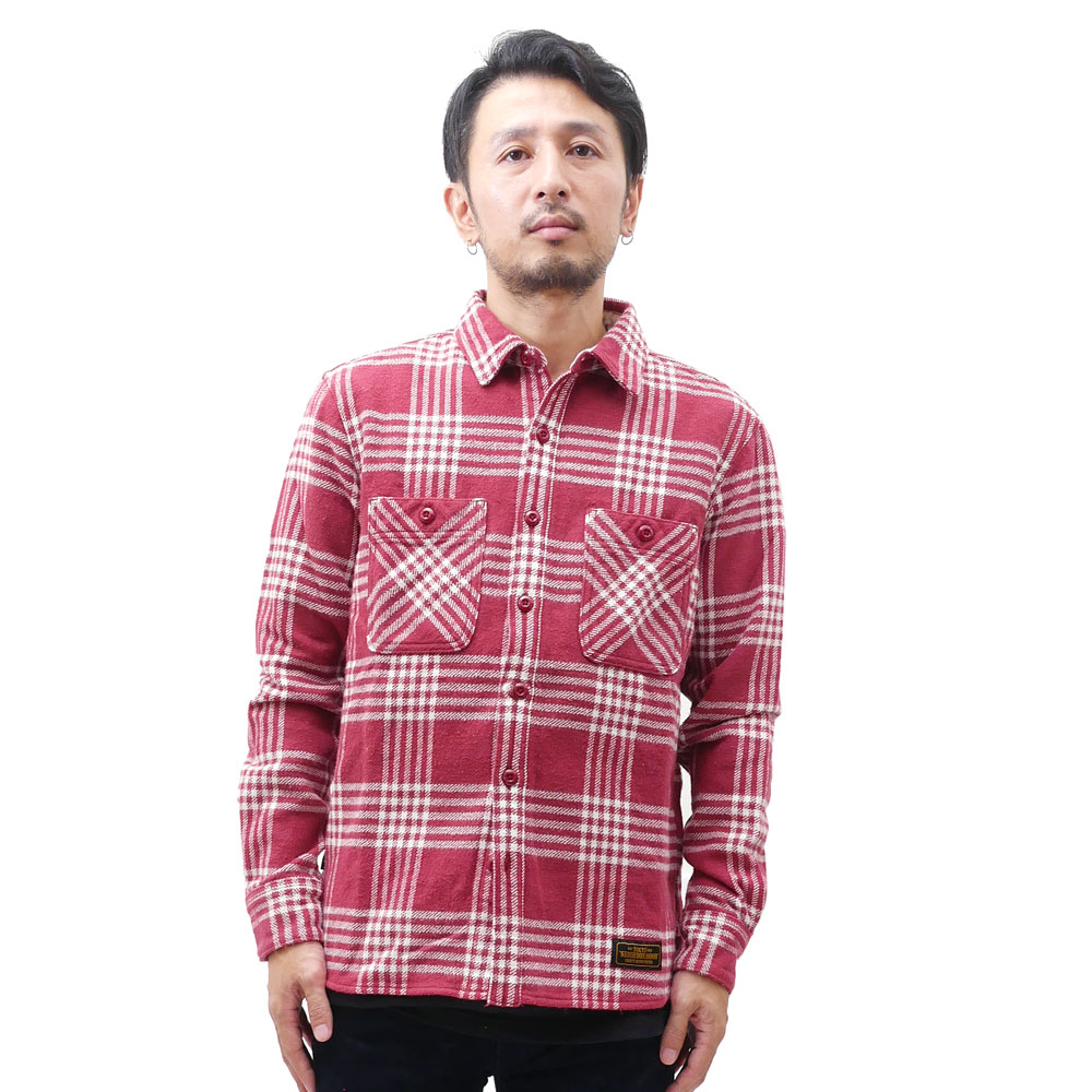 NEIGHBORHOOD LUMBERS/C-SHIRT. LS (long-sleeved shirts) 216-001435-041-