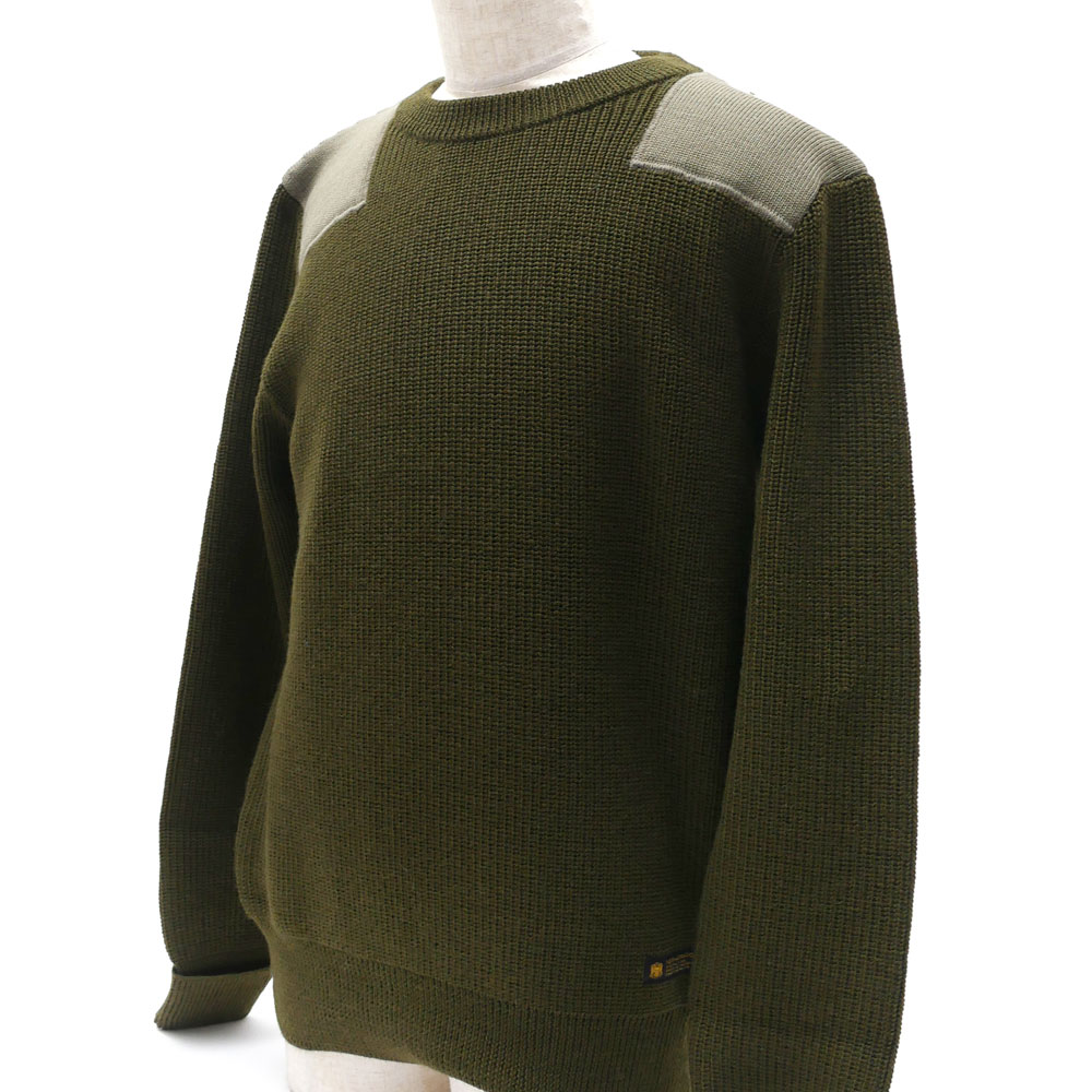NEIGHBORHOOD COMMANDER/W-CREW. LS (knitting) (sweater) 162FUNH-KNM02 231 - 055 --000332