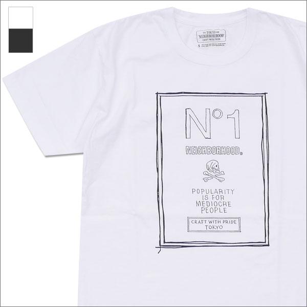 NEIGHBORHOOD(네이버후드) NO. 1/C-TEE.SS (T셔츠) 171 PCNH-ST14 200-007277-030-