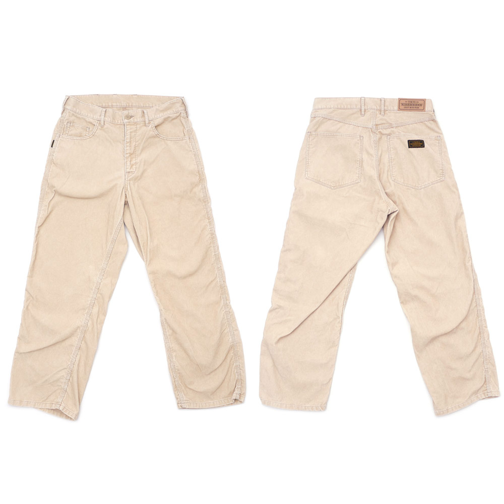 ネイバーフッド NEIGHBORHOOD CORDUROY H RCEPT パンツ 172SPNHPTM02 249000588036新品lc1TFKJ