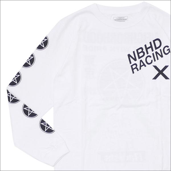NEIGHBORHOOD(ネイバーフッド) NBHD-X/C-TEE.LS (長袖Tシャツ) 172LBNH-LTM01S WHITE 202-000923-030+【新品】