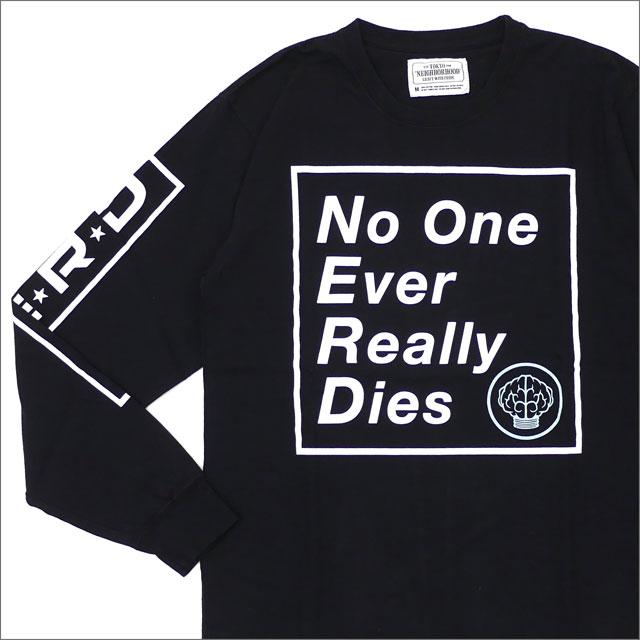 NEIGHBORHOOD(ネイバーフッド) N.E.R.D/C-TEE.LS (長袖Tシャツ) 172PCNDN-LT01S BLACK 202-000927-041+【新品】