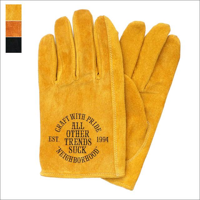 NEIGHBORHOOD(ネイバーフッド) P.S./PS-GLOVE (グローブ)(手袋) 181DPNH-AC01 290-004600-048-【新品】