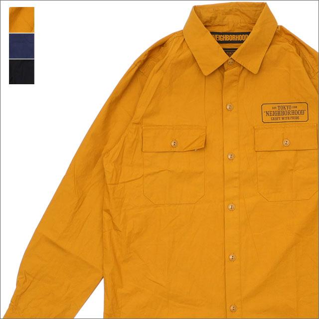 NEIGHBORHOOD(ネイバーフッド) CLASSIC WORK/C-SHIRT.LS (長袖シャツ) 181BENH-SHM01 216-001528-057-【新品】