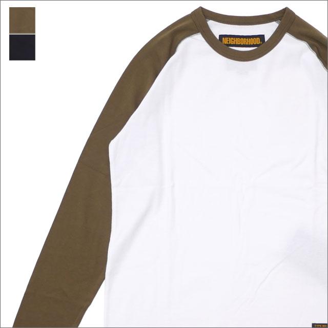 NEIGHBORHOOD(ネイバーフッド) CORDURA/CN-CREW.LS (長袖Tシャツ) 181FPNH-CSM03 216-001538-041-【新品】