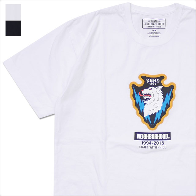 NEIGHBORHOOD(ネイバーフッド) WOLF/C-TEE.SS (Tシャツ) 181PCNH-ST08 200-007785-050-【新品】