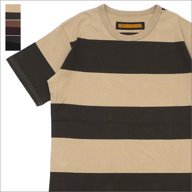 NEIGHBORHOOD(ネイバーフッド) B.D./C-CREW.SS (Tシャツ) 181FPNH-CSM02 204-000025-045-【新品】