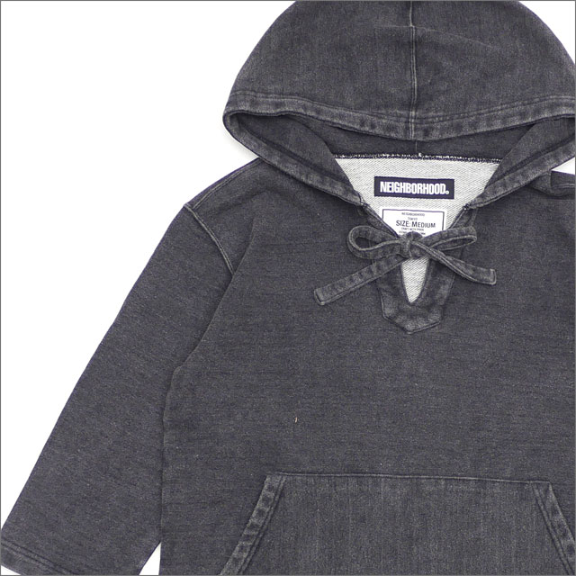 NEIGHBORHOOD(ネイバーフッド) MEX PARKA.ID/C-HOODED.3Q (パーカー) 181UWNH-CSM12 BLACK 211-000580-041-【新品】