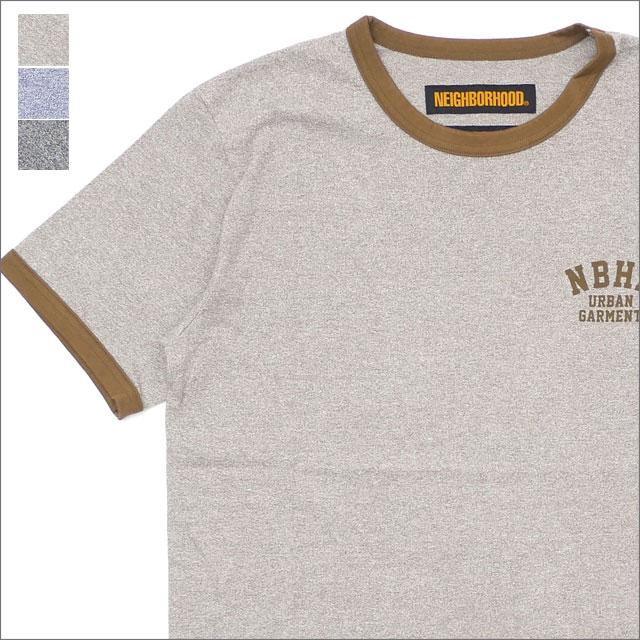 NEIGHBORHOOD(ネイバーフッド) TOP.RINGER/CE-CREW.SS (Tシャツ) 181ATNH-CSM06 204-000029-057-【新品】