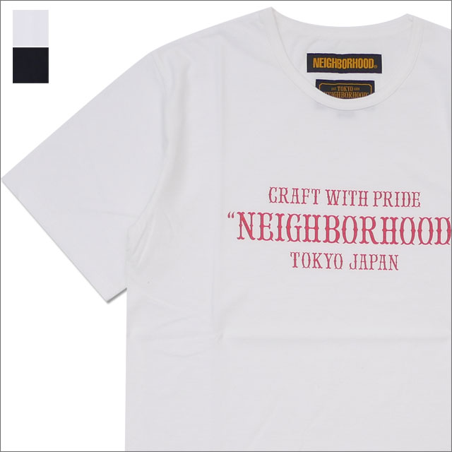 NEIGHBORHOOD(ネイバーフッド) PAP/C-CREW.SS (Tシャツ) 181UWNH-CSM07 204-000030-050-【新品】