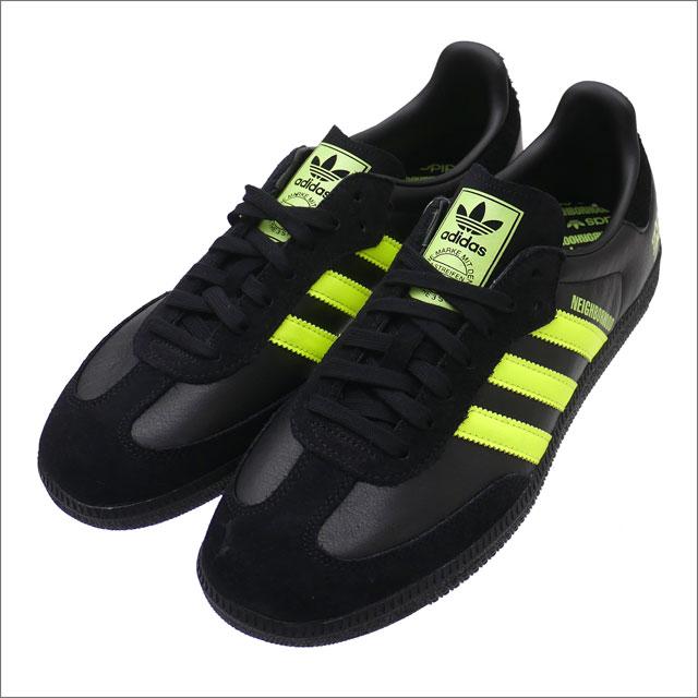 NEIGHBORHOOD(ネイバーフッド) x adidas Originals(アディダス) SAMBA NBHD (スニーカー) 181ADADN-FWM07S BLACK 291-002433-271-【新品】