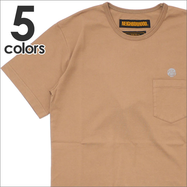 NEIGHBORHOOD(ネイバーフッド) CLASSIC-P/C-CREW.SS (Tシャツ) 181ATNH-CSM02 203-000291-057-【新品】