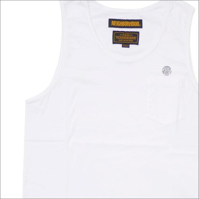 NEIGHBORHOOD(ネイバーフッド) CLASSIC-P/C-TANK (タンクトップ) 181ATNH-CSM03 WHITE 205-000151-040-【新品】