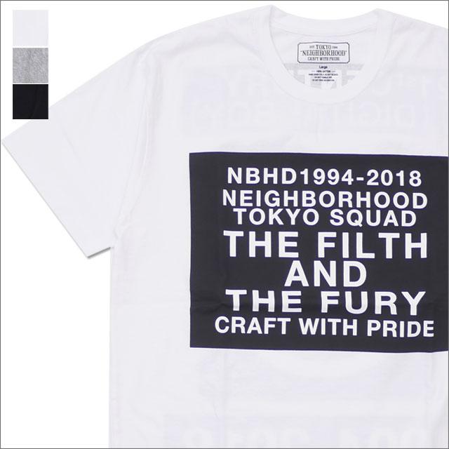 NEIGHBORHOOD(ネイバーフッド) DIGITAL/C-TEE.SS (Tシャツ) 181PCNH-ST14 200-007854-050-【新品】