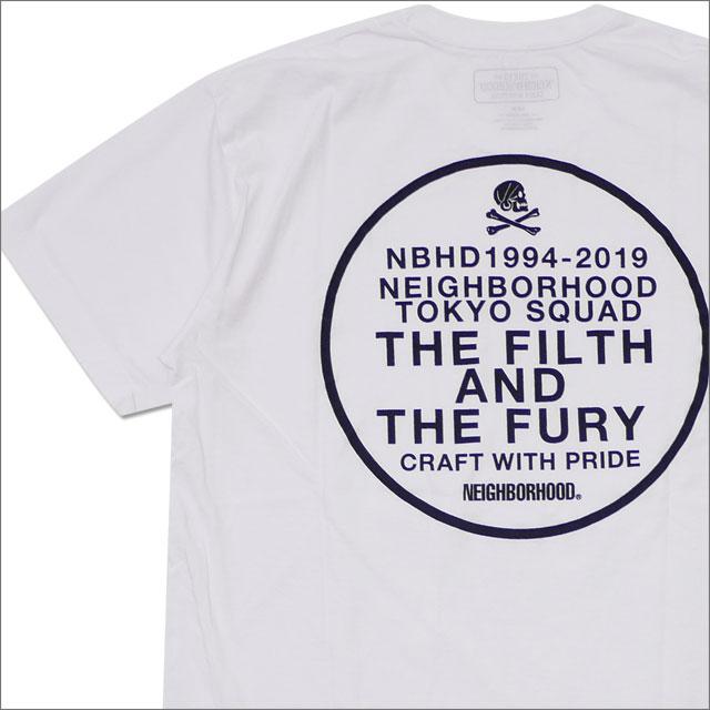 NEIGHBORHOOD(ネイバーフッド) SQD/C-TEE.SS (Tシャツ) 181PCNH-ST10S WHITE 200-007913-050-【新品】