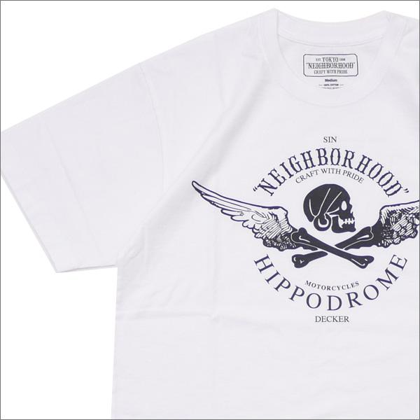 NEIGHBORHOOD(ネイバーフッド) JOHN/C-TEE.SS (Tシャツ) 181PCJDN-ST01S WHITE 200-007914-040-【新品】