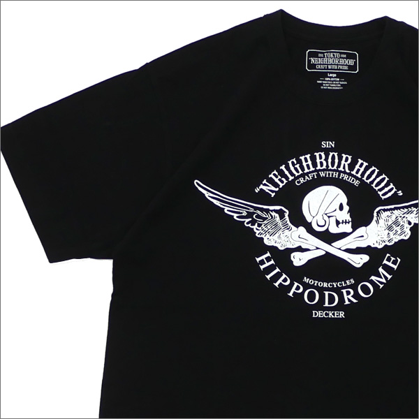 ネイバーフッド NEIGHBORHOOD JOHN CTEE.SS Tシャツ 181PCJDNST01S BLACK 200007914051 【新品】