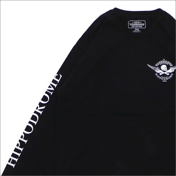 ネイバーフッド NEIGHBORHOOD JOHN CTEE.LS Tシャツ 181PCJDNLT01S BLACK 202000962071 【新品】