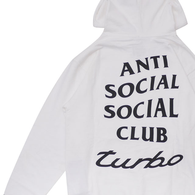 NEIGHBORHOOD(ネイバーフッド) x Anti Social Social Club ASSC.TURBO/CE-HOODED.LS WHITE 211-000584-040+【新品】