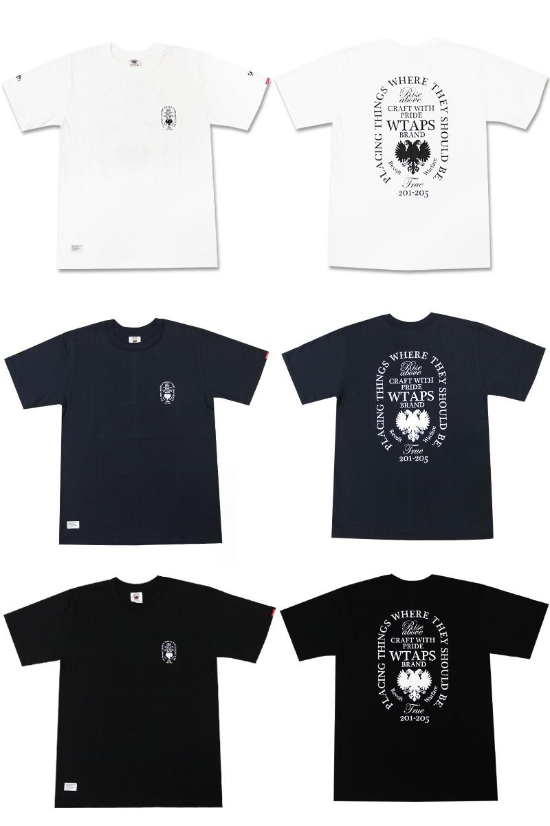 (W)TAPS(다브르탑스) HERALDRY T셔츠200-002696-047+